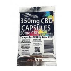 BHANG CBD CAPSULE BS 350mg (50mgpc - 7ct)