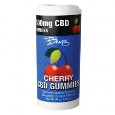 BHANG CBD GUMMIES CHERRY BOMB TUBE 500mg 50ct