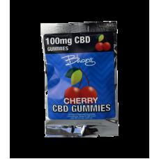 BHANG CBD GUMMIES CHERRY BOMB POUCH 100mg 10ct