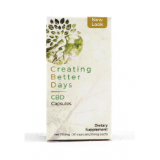 CREATING BETTER DAYS CAPSULES 30CT BOTTLE (750mg)