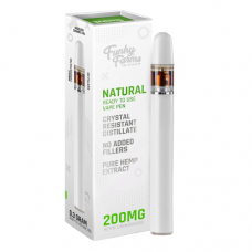 Funky Farms Natural CRD Disposable Vape Pen 0.3mL (200mg)
