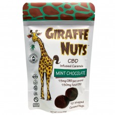 GIRAFFE NUTS CBD 10ct BAG - 150MG -