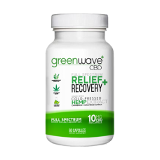GREENWAVE CBD 600mg RELIEF + RECOVERY CAPSULES 60ct