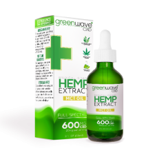 GREENWAVE CBD PURIFIED MCT OIL 1200mg