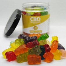 GOLDLINE GUMMY BEARS 25MG/EA - 1500MG JAR - APPROX 60PCS