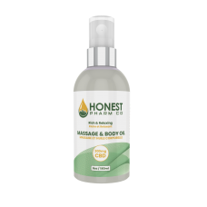 HONEST PHARM CBD Massage & Body Oil 6 oz. (300mg)