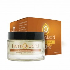 HEMP LUCID CBDA BODY CREAM 1000mg