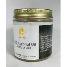 JUST CBD GOLDEN GOAT COCONUT OIL 360mg