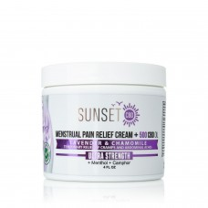 SUNSET MENSTRUAL PAIN RELIEF 500 MG ULTRA STRENGTH CREAM