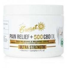 SUNSET PAIN RELIEF 500 MG ULTRA STRENGTH CREAM