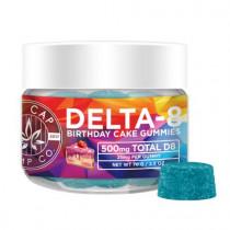NCHC DELTA 8 INFUSED VEGAN GUMMIES 500mg (DELTA 8 THC)