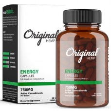 ORIGINAL HEMP - INFUSED CAPSULES - 750mg Full Spectrum Hemp Extract
