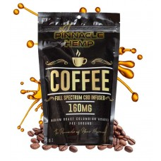 PINNACLE CBD COFFEE GROUND FULL SPECTRUM 160mg