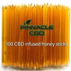 PINNACLE CBD HONEY STICKS FULL SPECTRUM 100pk, 1000mg