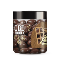 R.A. ROYAL CBD CHOCOLATE COVERED ALMONDS 1000mg